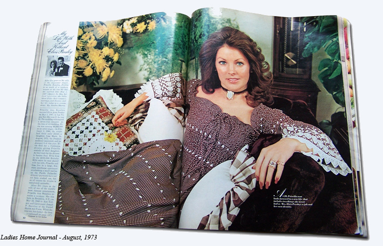 Charmant Priscilla Presley   My Life With And Without Elvis Presley   Ladies Home  Journal   August. U0027
